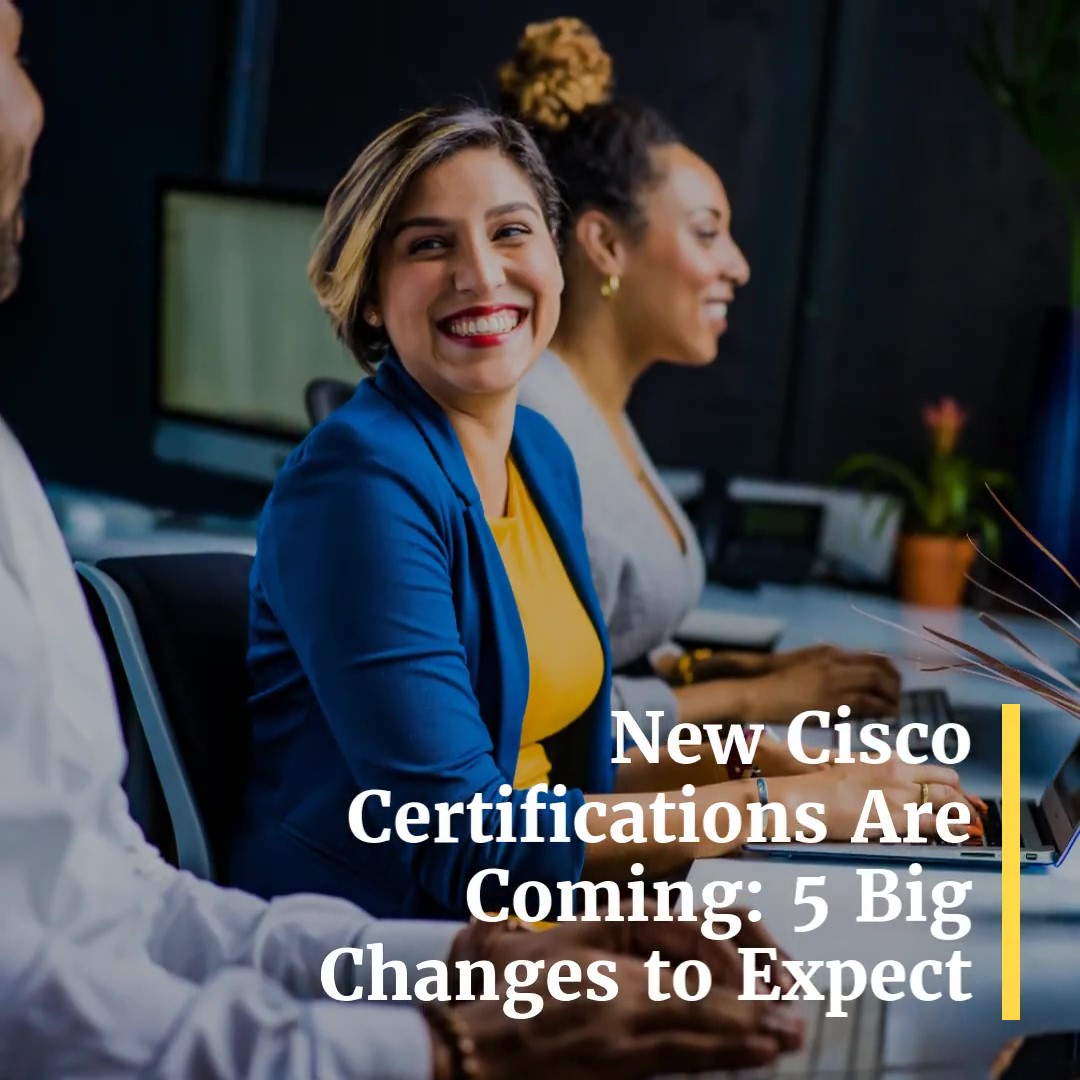 New Cisco Certification Video